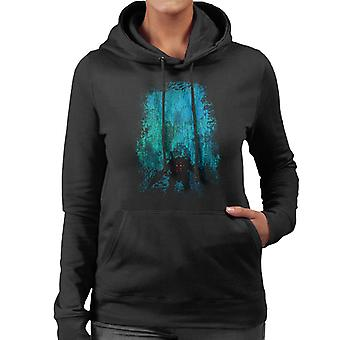 Bioshock Big Daddy Discovering Rapture Women's Hooded Sweatshirt