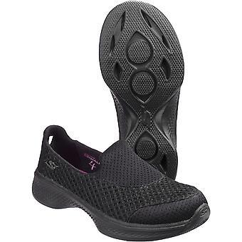 سكيتشرز الأولاد & الفتيات الذهاب سيرا على الأقدام أحذية سليبون تنفس أوقد 4