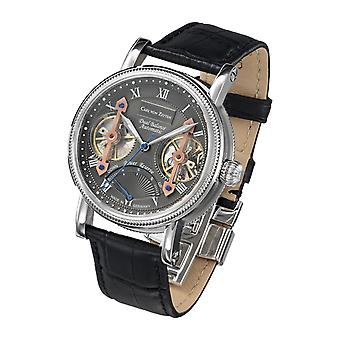 Carl of Zeyten men's watch wristwatch automatic Kinzig CVZ0024GU