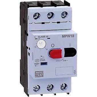 WEG MPW18-3-D016 Overload relay adjustable 1.6 A 1 pc(s)