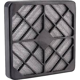 Wallair N40979 Fan grille with built-in filter (W x H) 12 cm x 12 cm