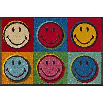 umyć + suchy mat Smiley Warhol 50 x 75 cm