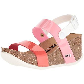 Bayton Womens Selene Open Toe Casual Platform Sandals