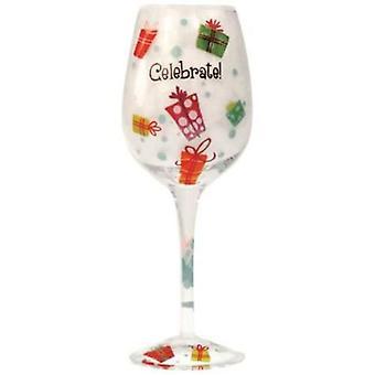 Party Celebrate Wino Vino Wine Glass 15 Ounces