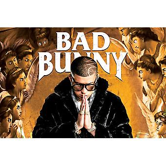 Bad Bunny Prayer Poster Print