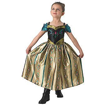 アンナはアンナとエルザの子供たちの戴冠式のドレス プリンセス ドレス オリジナル コスチュームを凍結