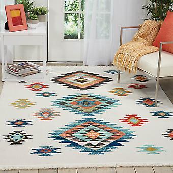 Navajo dywany Nav07 w biały Nourison