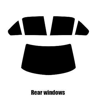 Pre cut window tint - BMW 3 Series 4-door Saloon - 1985 to 1989 - Rear windows