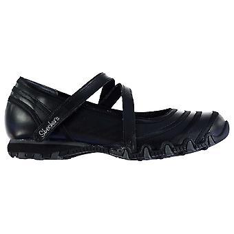 Skechers Womens Riboneer MF Slip op Ballet pompen plat Casual schoenen
