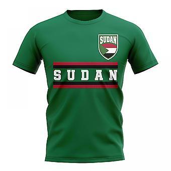 Sudan Core fotball land T-Shirt (grønn)
