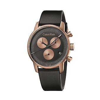 Deze Calvin Klein City Men's Chronograph Watch K2G17TC1