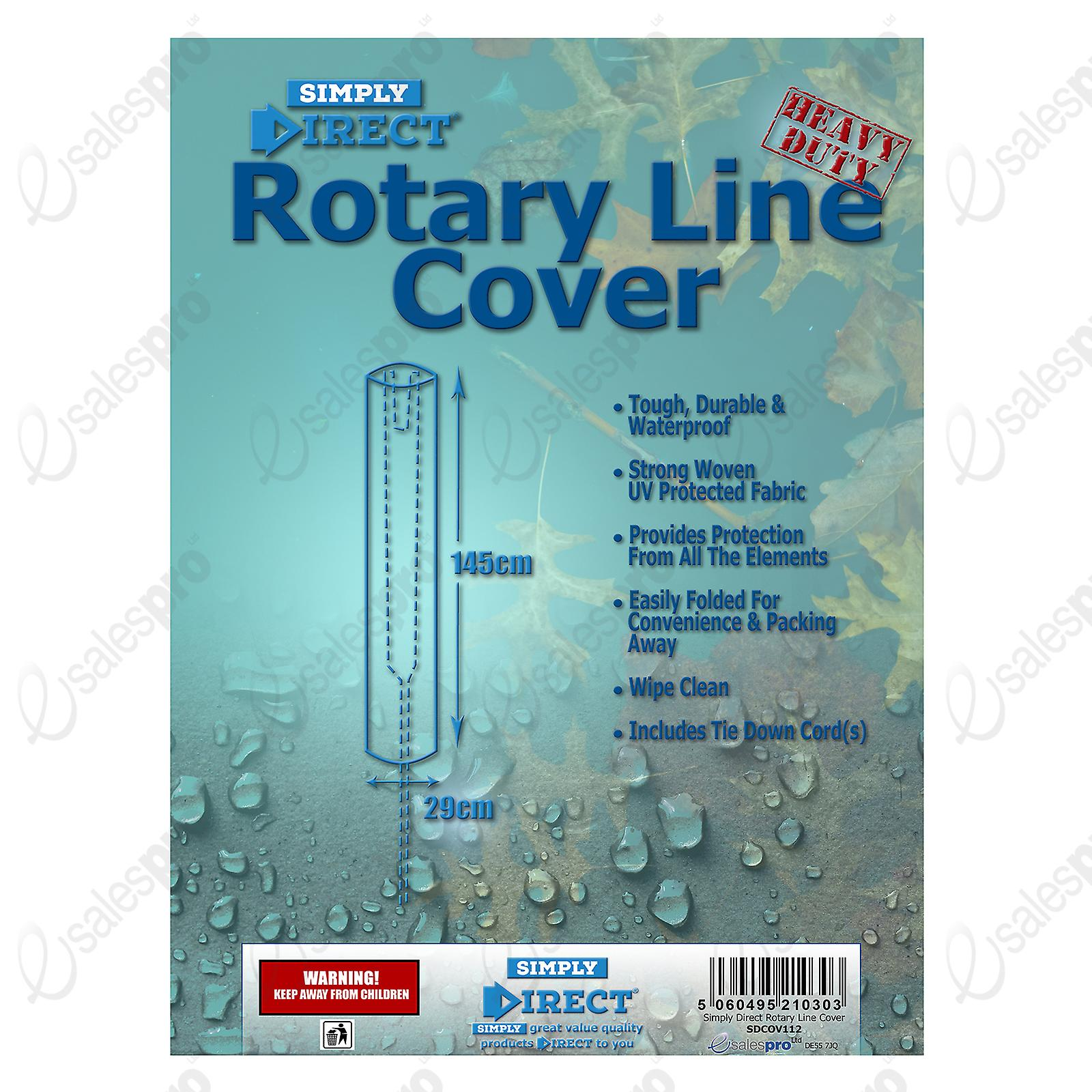 Simply Direct Rotary Line Cover - Waterproof Weatherproof Outdoor Protector