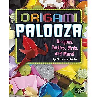 Origami Palooza: Drakar, sköldpaddor, fåglar och mycket mer! (Origami Paperpalooza)