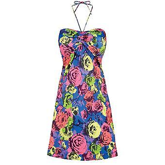 فستان الشاطئ باندو As3259 البوب الأزهار فريا