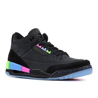Air Jordan 3 Retro Se Q54 (Gs) 'Quai54' - At9194-001 - Shoes