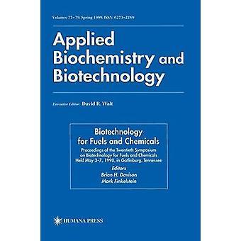 20. Symposium zur Biotechnologie für Treibstoffe und Chemikalien von Davison & Brian H.