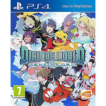 Digimon World prochaine ordonnance PS4 jeu