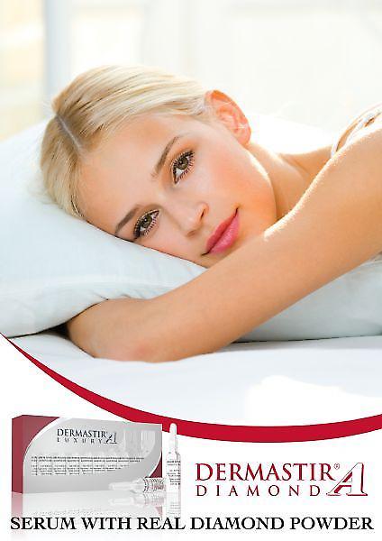 Dermastir Luxury - Diamond Peptides skincare ampoules
