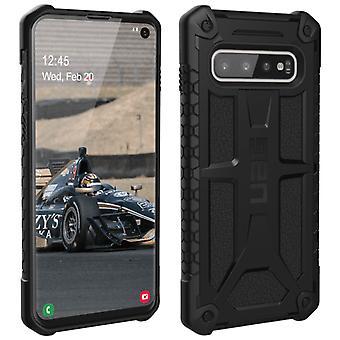 UAG Monarch Series Samsung Galaxy S10 Shockproof Shield Protection - Black