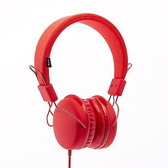 سماعات الرأس الحضري خفيفة الوزن باستيل ستيريو - المرجان (PASTEL-CL)