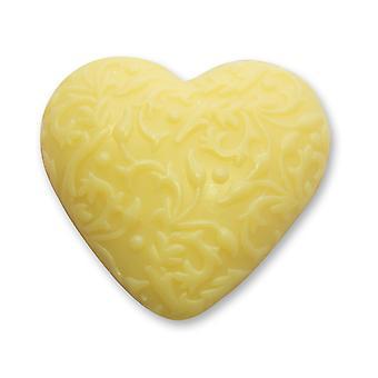 Florex BioLina orgânica ovinos sabão de leite-citrinos-coração com ornamento 80 g