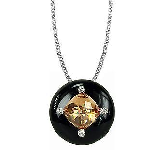 Belle Etoile Black Corona Pendant 02020910501