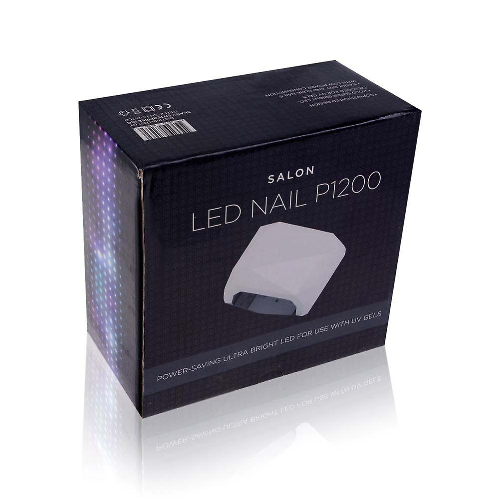 SHANY Salon Expert 12W LED Nail Dryer/Lamp - Compact, Trendy Design W/3 Timers