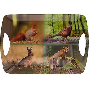 Wildlife Serving Tray