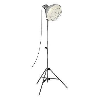 Lámpara BRILLANTE RINGS lámpara de pie de hormigón gris Con interruptor de pie I Ajustable en altura