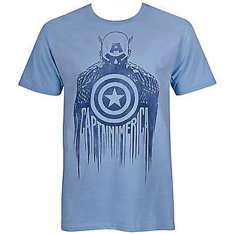 קפטן אמריקה צללית גברים ' חולצת s-T