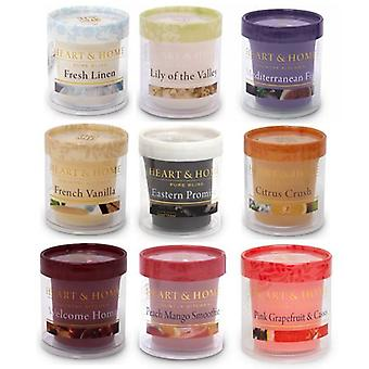 Heart and Home Votive Candle Gift Set Of NINE