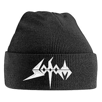 Sodom Beanie Hat Band Logo new Official Black