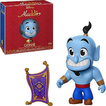 Aladdin Genie with Carpet 5-Star Vinyl Figure