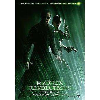 The Matrix Revolutions (Neo & Trinity Reprint) (2003) Reprint Cinema Poster