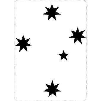 Naklejka Naklejka Laptop Macbook Cross Star Australia Południowa Czerwią