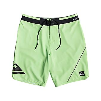 Quiksilver Highline New Wave 20 Technical Boardshorts in Jade Lime