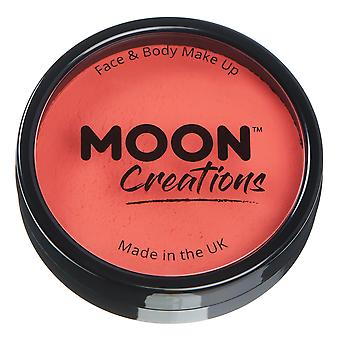 Moon Creations - Pro Face & Body Paint Cake Pots - Coral