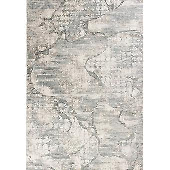 3' x 5' Ivory or Mist Abstract Area Rug
