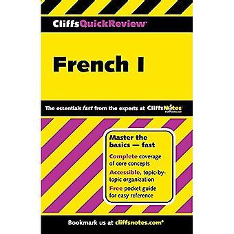 Franska: BK. 1 (Cliffs Quick Review)