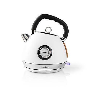 Nedis KAWK530EWT el-kedel 1,8 L soft-touch hvid