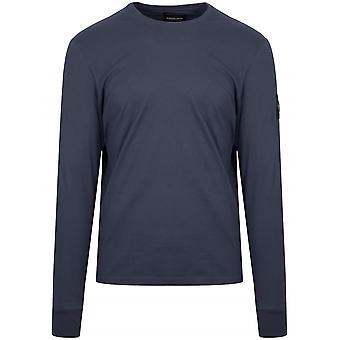 Marshall Artist Navy Garment Dyed T-Shirt