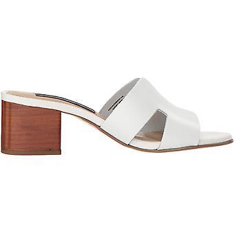 STEVEN by Steve Madden Womens Foreva Nubuck Slide Mule Sandals