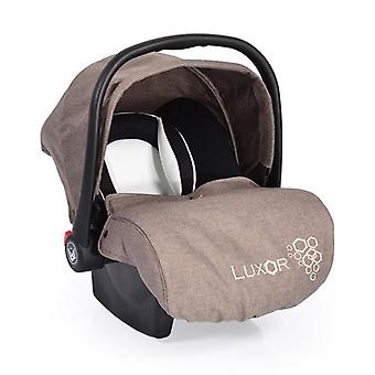 baby carrier, car seat Luxor, group 0+ (0 - 13 kg), seat cushion, foot cover