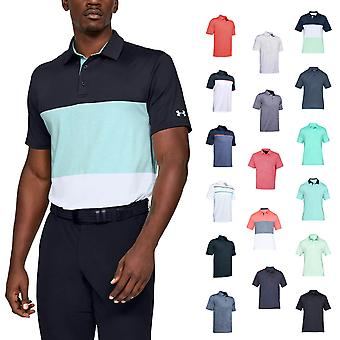 Under Armour Mens Solid Playoff 2.0 Golf Soft Breathable Light Polo Shirt