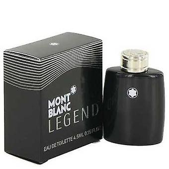 Montblanc legende door Mont Blanc Mini EDT .15 oz (mannen) V728-497587