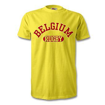 Camiseta de Rugby de Bélgica