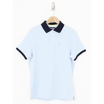 Barbour Lynton Polo - Blue Light
