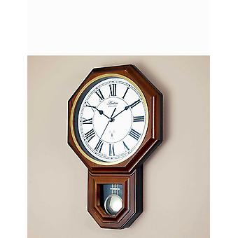 Acctim Yanton Radio Controlled Pendulum Wall Clock