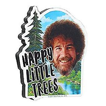 Magnet - Bob Ross - Trees Funky Chunky New 95671