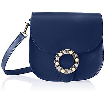 Good Bags 1628 Blue Women's Shoulder Bag (Blue) 23x21x9 cm (W x H x L)